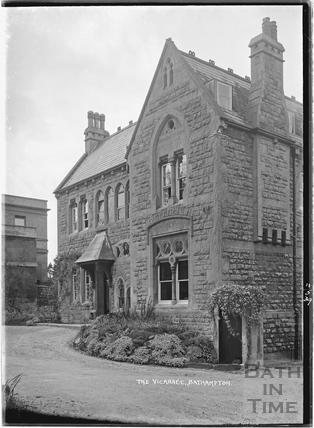 The Vicarage Bathampton Lane, 11 May 1939