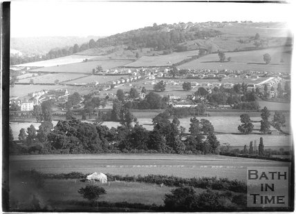 View of Bathampton looking south c.1932