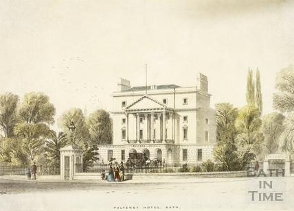 Pulteney Hotel, c.1840
