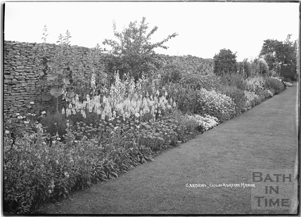 Gardens, Cold Ashton Manor, 1935