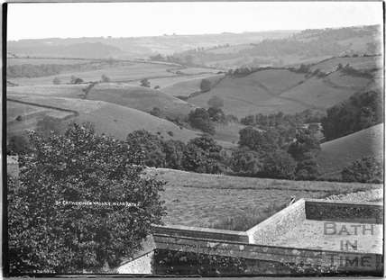 View from Terrace, Cold Ashton Manor, 1935