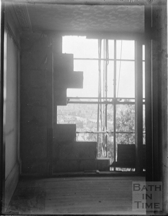 After the Bath Blitz, Sydney Buildings 1942