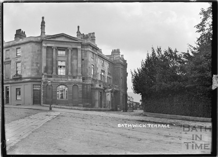 Bathwick Terrace, Bathwick Hill c.1910