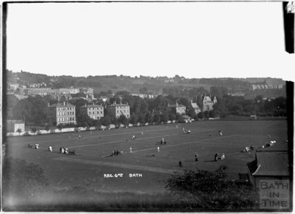 Croquet on the Recreation Ground c.1910