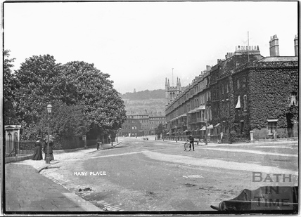 Raby Place, Bathwick Hill c.1910