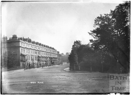 Raby Place, Bathwick Hill c.1910