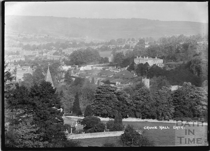 View of Crowe Hall, c.1920s