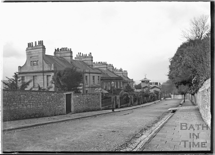 View down Bathwick Hill c.1920s