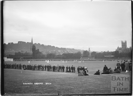 Cricket on the Country Ground c.1910