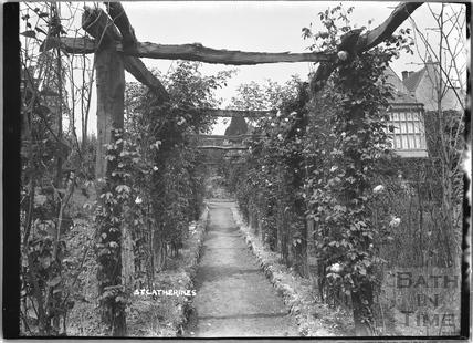 Garden walk at St Catherines Court 1922