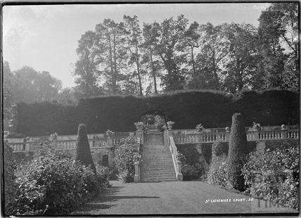 Garden, St Catherines Court No.20 c.1920s