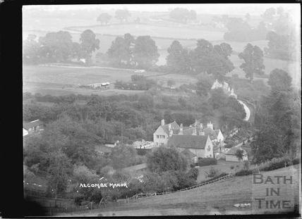 View of Alcombe Manor, Ditteridge, near Box, 1935