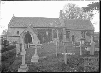 The Church at Ditteridge, 1935