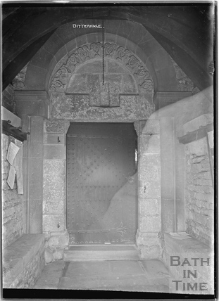 Doorway to the Church at Ditteridge, 1935