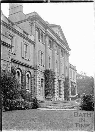 Main facade of Shockerwick House c.1920s