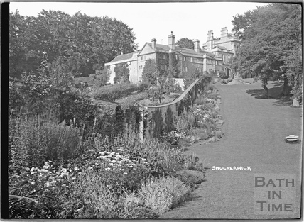 Shockerwick House and garden c.1920s