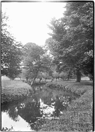 The brook at Shockerwick c.1920s