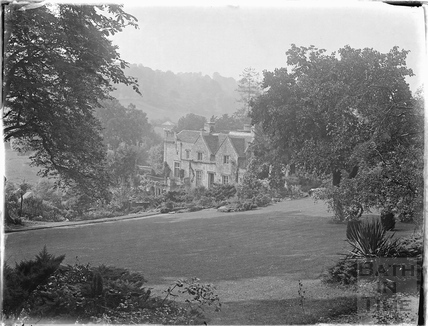 View of Iford Manor from the gardens c.1926