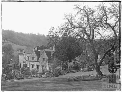 View of Iford Manor from the gardens 1926