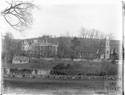 Freshford Manor and Church c.1920s