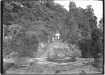 The gardens at Iford Manor c.1920s
