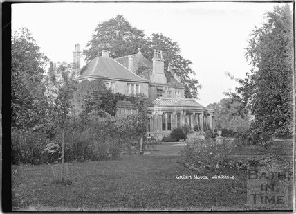 Green House, Wingfield 1932