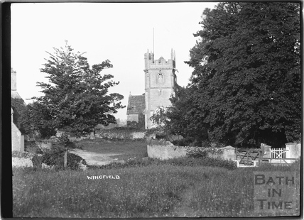 View of Wingfield Church c.1932