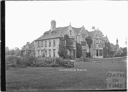 Wingfield House, 1932