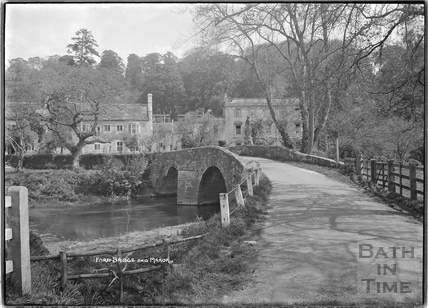 Iford bridge and Manor c.1920s