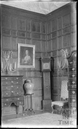South Wraxall Manor interior 1935