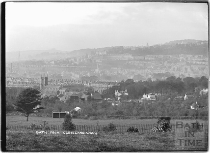 View of Bath from Cleveland Walk c.1920s