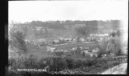 View of Monkton Combe 1920