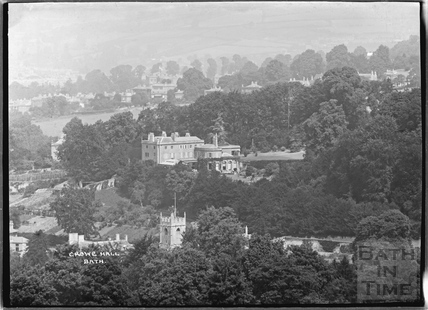 View of Crowe Hall, Widcombe c.1920s