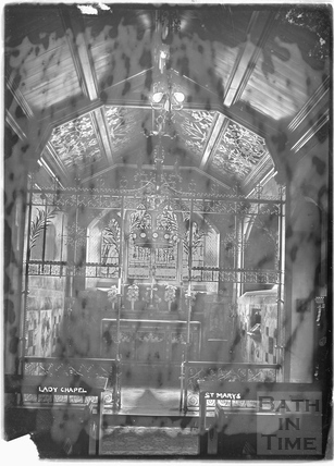 Lady Chapel, St Mary's Church, Bathwick c.1912
