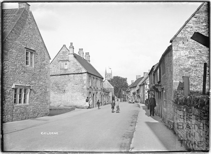High Street, Colerne April 1933