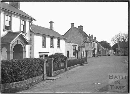 High Street, Colerne c.1935