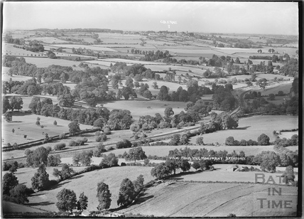View from the Monument, Bathford towards Colerne c.1936