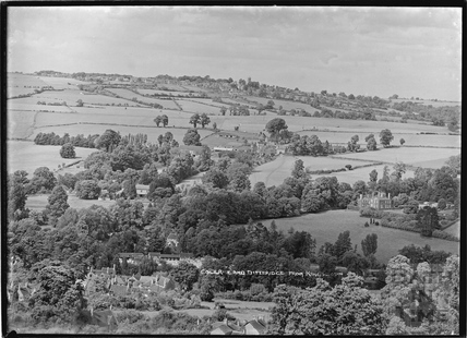 Colerne and Ditteridge from Kingsdown c.1935