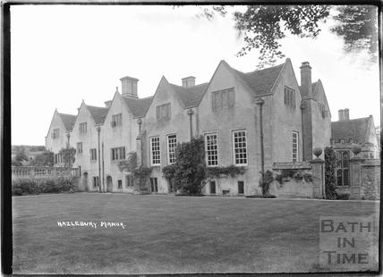 Hazelbury Manor, nr. Box c.1920s