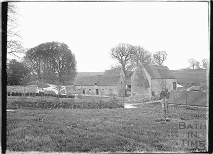 Farm Buildings at Hazelbury Manor nr. Box c.1920s