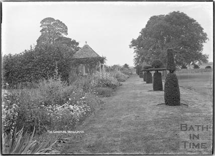 The Gardens at Hazelbury Manor, nr. Box c.1920s