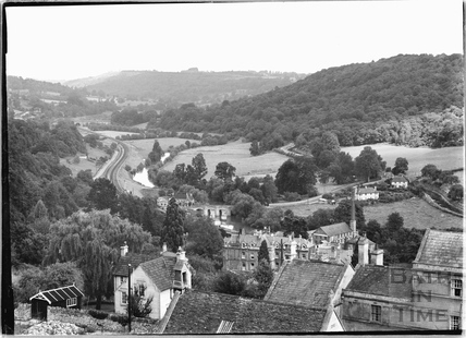 View of the Limpley Stoke Valley c.1920s