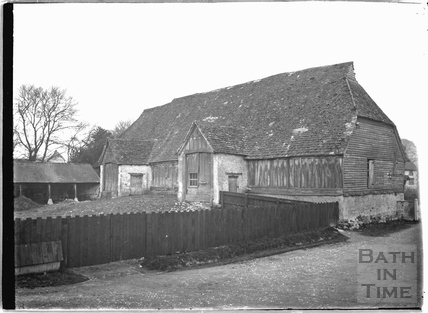 Unidentified Tithe Barn c.1920s