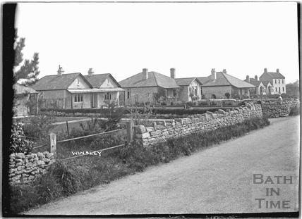 Houses in Winsley c.1920s