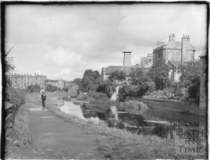 The Kennet and Avon Canal, Bathwick, Bath c.1930