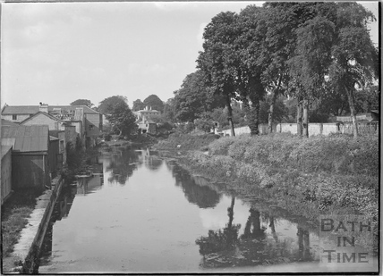 The Kennet and Avon Canal, Bathwick, Bath c.1920