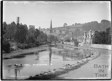 The Kennet and Avon Canal, Widcombe, Bath c.1920