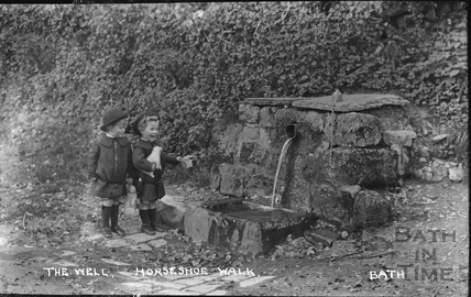 The Wishing Well, Horseshoe Walk c.1915