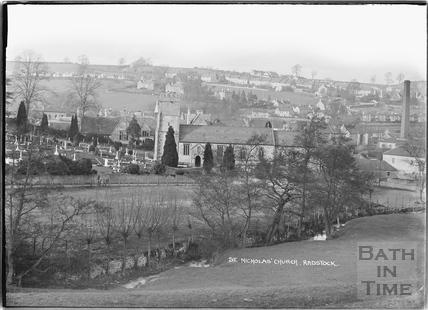 St Nicholas' Church, Radstock c.1938