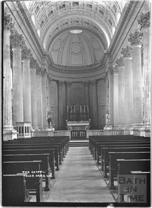 The Chapel, Prior Park College, c.1920s